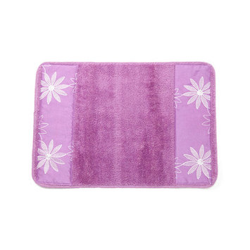 Popular Bath Products Daisy Stitch Bath Rug Color: Lilac