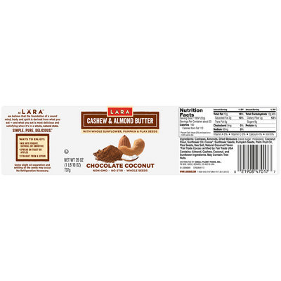 LARABAR® Chocolate Coconut Cashew & Almond Butter Variety Pack