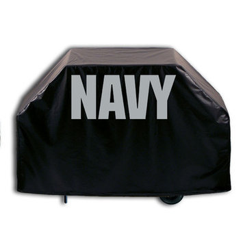Holland Bar Stool Company US Armed Forces Grill Cover - Size: 36 H x 55 W x 21 D, Branch: Navy