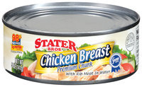 Stater Bros. Premium Chunk W/Rib Meat In Water Chicken Breast 5 Oz Can