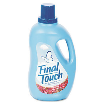 Final Touch Ultra Liquid Fabric Softener - 120 Oz / 4 per Case