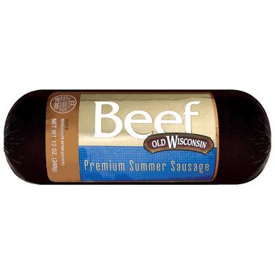 Summer Sausage 12 Oz Beef Summer Sausage 70012