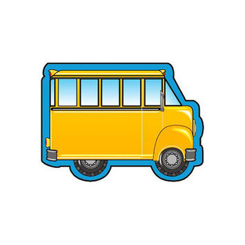 Shapes SE-727 Mini Notepads School Bus