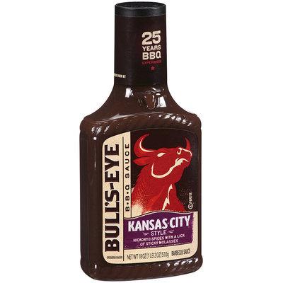 Bull's-Eye Kansas City Style Barbecue Sauce 18 oz. Bottle