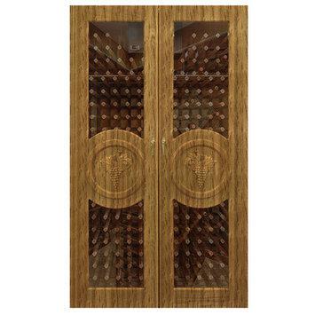 Vinotemp Concord 700-Model Wine Cabinet Finish: Natural