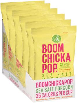 Angie's™ Boomchickapop.® Sea Salt Popcorn Snack Packs 6-0.6 oz. Bags