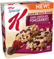 Special K® Kellogg Dark Chocolate Pomegranate Chewy Snack Bars