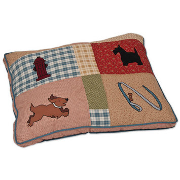 Petmate 29 X 40 Lucky Quilted Pillow Bed