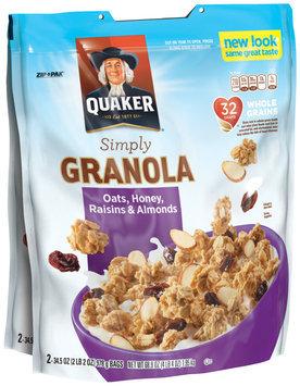 Quaker® Simply Granola Oats, Honey, Raisins & Almonds