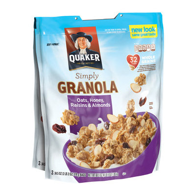 Quaker® Simply Granola Oats, Honey, Raisins & Almonds