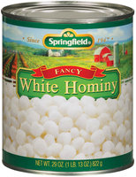 Springfield White Fancy Hominy 29 Oz Can