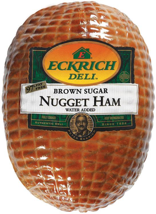 Eckrich Brown Sugar Nugget Ham Deli - Ham