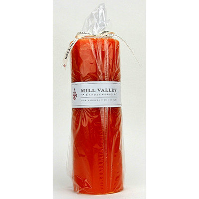 Mill Valley Candleworks Mango Citrus Scented Pillar Candle Size: 9