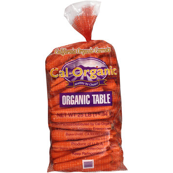 Grimmway Farms Bunny-Luv® Organic Jumbo Carrots 25 lb. Bag