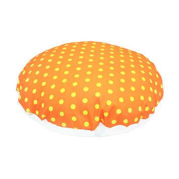Divine Designs Polka Dot Dog Bed Size: Large - 45