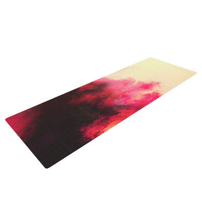 Kess Inhouse Painted Clouds II by Caleb Troy Yoga Mat