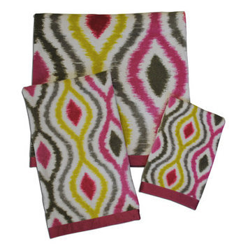 Waverly Optic Delight Print Towel Set