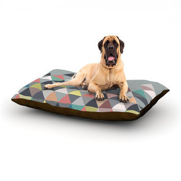 Kess Inhouse Nordic Combination Rectangle Pet Bed, 40 W x 30 D
