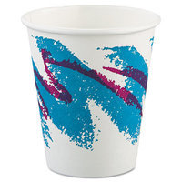 Solo Cups Jazz Paper Hot Cups, 6oz, Polycoated, 50/Bag, 20 Bags/Carton
