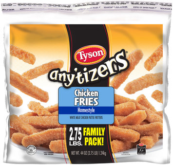 Tyson® Any'tizers® Homestyle Chicken Fries 44 oz. Bag