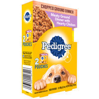 Pedigree® Chopped Ground Dinner Meaty Ground Dinner with Hearty Chicken Wet Dog Food