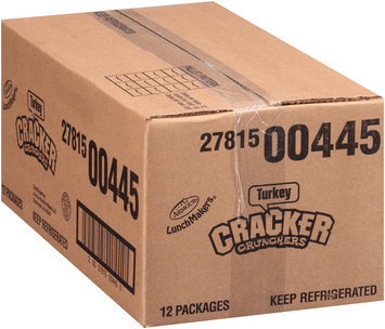 Armour® Lunchmakers® Turkey Cracker Crunchers with 6.75 fl oz Hawaiian Punch Fruit Juicy Red 2.95 oz. Box