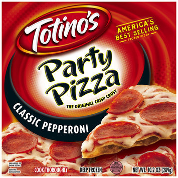 Totino's® Classic Pepperoni Party Pizza® 10.2 oz. Box