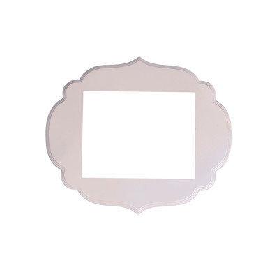 Secretly Designed Kennedy Frame Size: 11x14, Color: Princess Pink
