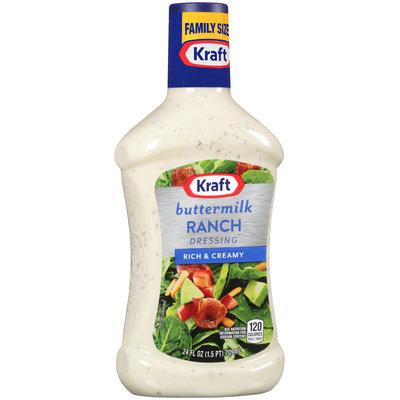 Kraft Buttermilk Ranch Dressing 24 fl. oz. Bottle