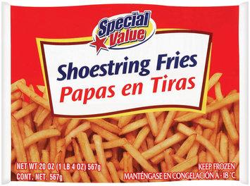Special Value Shoestring Potatoes 20 Oz Bag