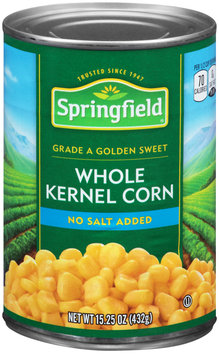 Springfield® Golden Sweet Whole Kernel Corn 15.25 oz. Can