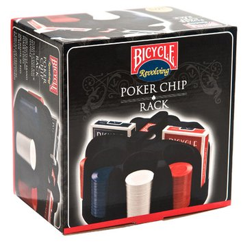 Bicycle Poker Set With Cards & Chip Rack
