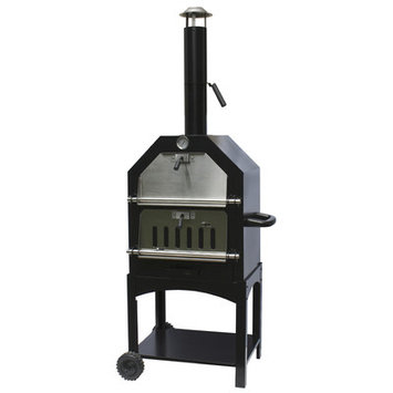 La Hacienda UK LTD Steel Pizza Oven & Smoker
