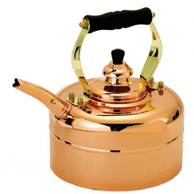 Old Dutch Copper 3-qt. Tri-Ply Windsor Whistling Teakettle