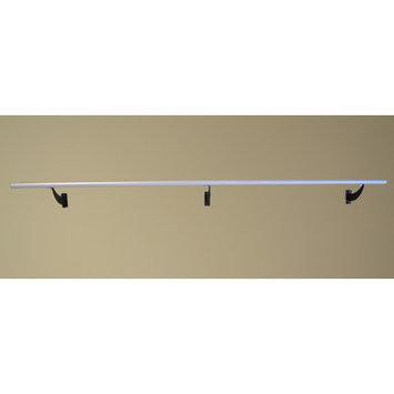 Vitavibe Wall Barre Series Modern Aluminum Single Bar Fixed Height Ballet Barre Kit Size: 5 ft.