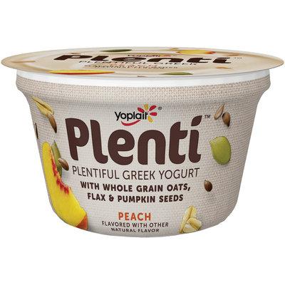 Yoplait® Plenti™ Greek Peach Low Fat Yogur