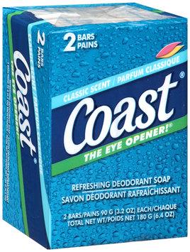 Coast® Classic Scent Deodorant Soap 2-3.2 oz. Pack