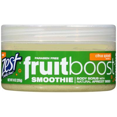 Zest® fruitboost® Citrus Splash Smoothie Body Scrub 9 oz. Jar