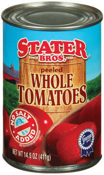 Stater Bros. Peeled  Whole Tomatoes 14.5 Oz Can