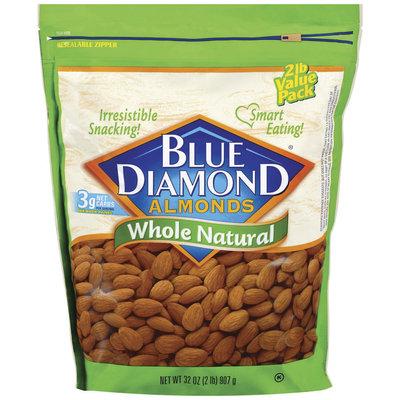 Blue Diamond Whole Natural Almonds 32 Oz Stand Up Bag