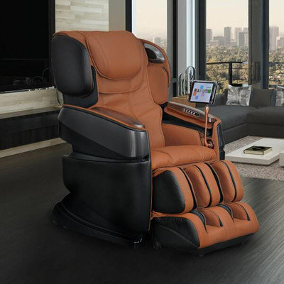 Ogawa Smart 3D Zero Gravity Reclining Massage Chair Upholstery: Cappucino