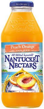 Nantucket Nectars® 100% Peach Orange Juice 16 fl. oz. Bottle