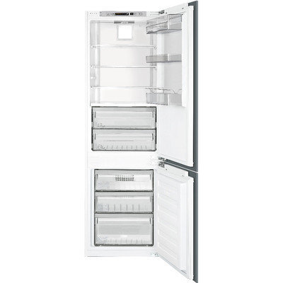 Smeg CB300U 10.0 Cu. Ft. Custom Panel Bottom Freezer Refrigerator - Energy Star