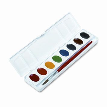 Prang Oval Pan Watercolor 8-Color Set