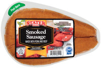 Stater Bros. Smoked Sausage 16 Oz Wrapper