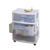 Home Products 5533.01 Large Three Drawer Cart