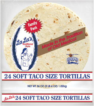 Soft Taco Size Tortillas 24 Ct Bag