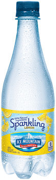 Ice Mountain® Sparkling Lemon Natural Spring Water