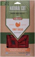 Old Wisconsin® Natural Cut™ Turkey Sausage Hardwood-Smoked Snack Bites 6 oz. Pack