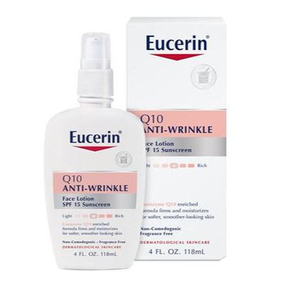 Eucerin® Q10 Anti-Wrinkle Face Lotion With SPF 15 Sunscreen